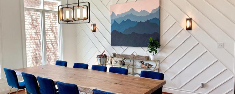 Salle à manger : optez pour un éclairage puissant