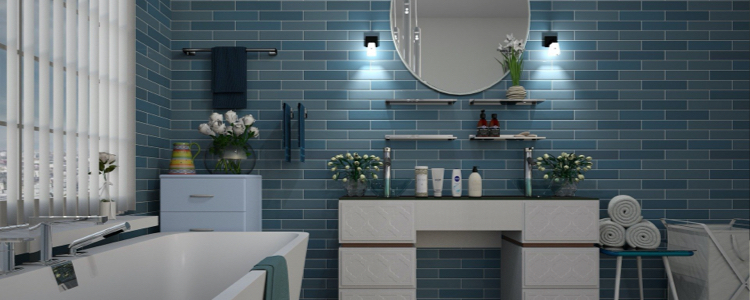 La salle de bain : une pièce bien éclairée